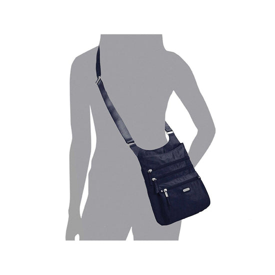 Baggallini Around Town Bagg with RFID Phone Wristlet - Grivet Outdoors