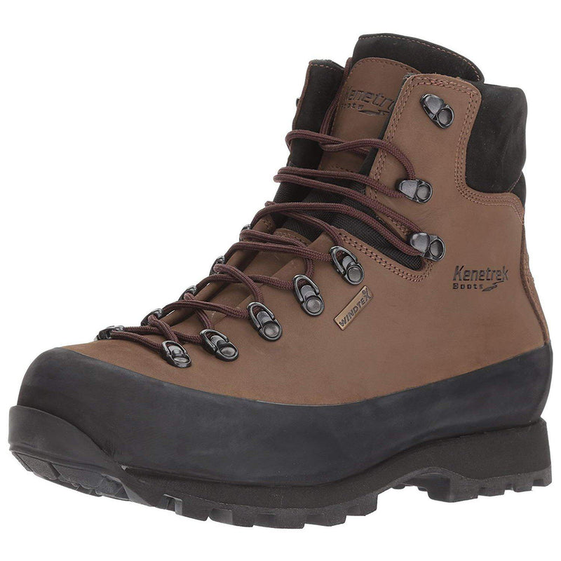Kenetrek Men's Hardscrabble Hiker Hiking Boot - Brown / 10