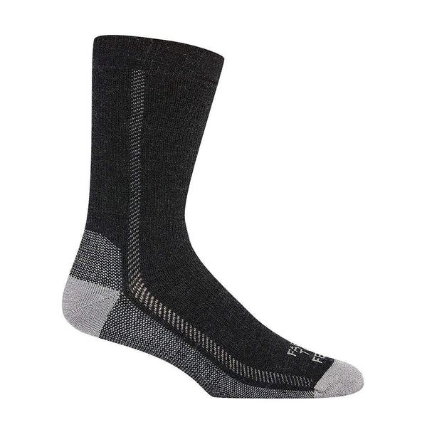 Farm to Feet Men's Madison Midweight Hiking Socks - Charcoal/Platinum / Small