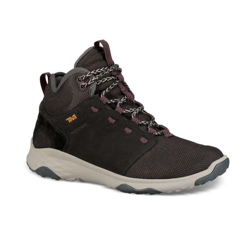 Teva Women's Arrowood Venture Mid Waterproof Hiking Boots - Black / 6