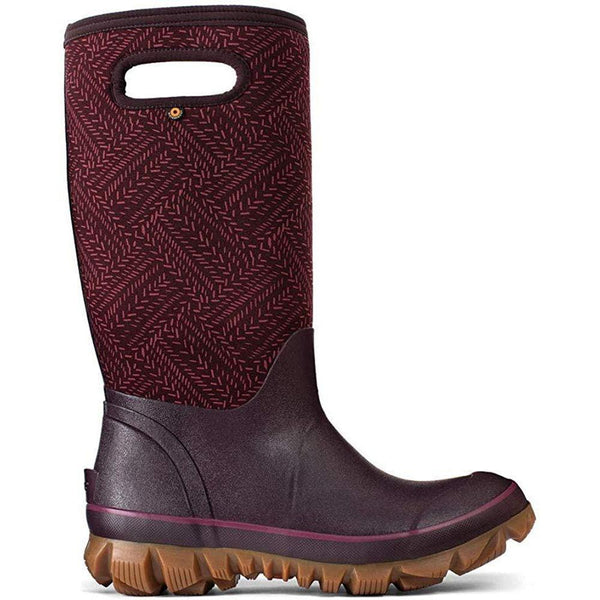 BOGS Women's Boot Snow Shoe - Grape / 12