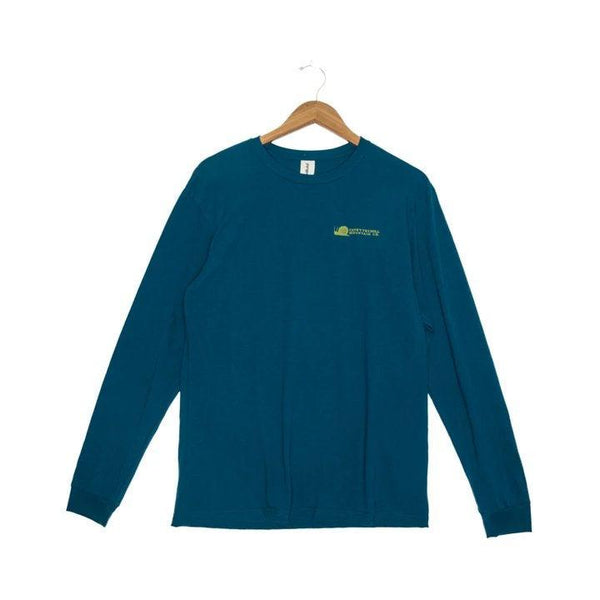 Fayettechill Woody Long Sleeve Shirt - Large / Tidal Teal