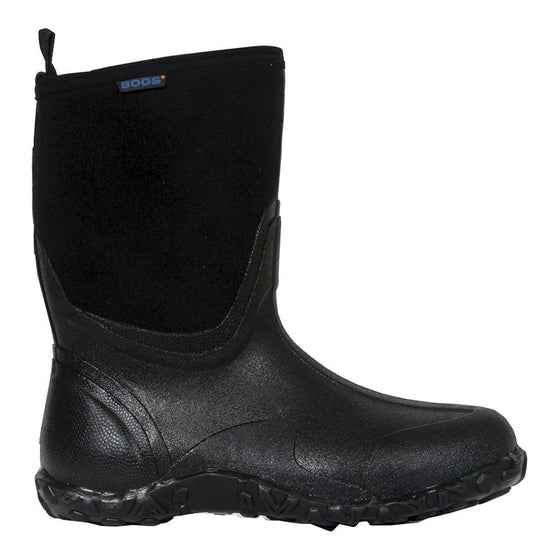 Bogs Men's Classic Mid Winter Snow Boot - Black / 15