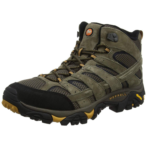 Merrell Men's Moab 2 Vent Mid Hiking Boot - Walnut / 10