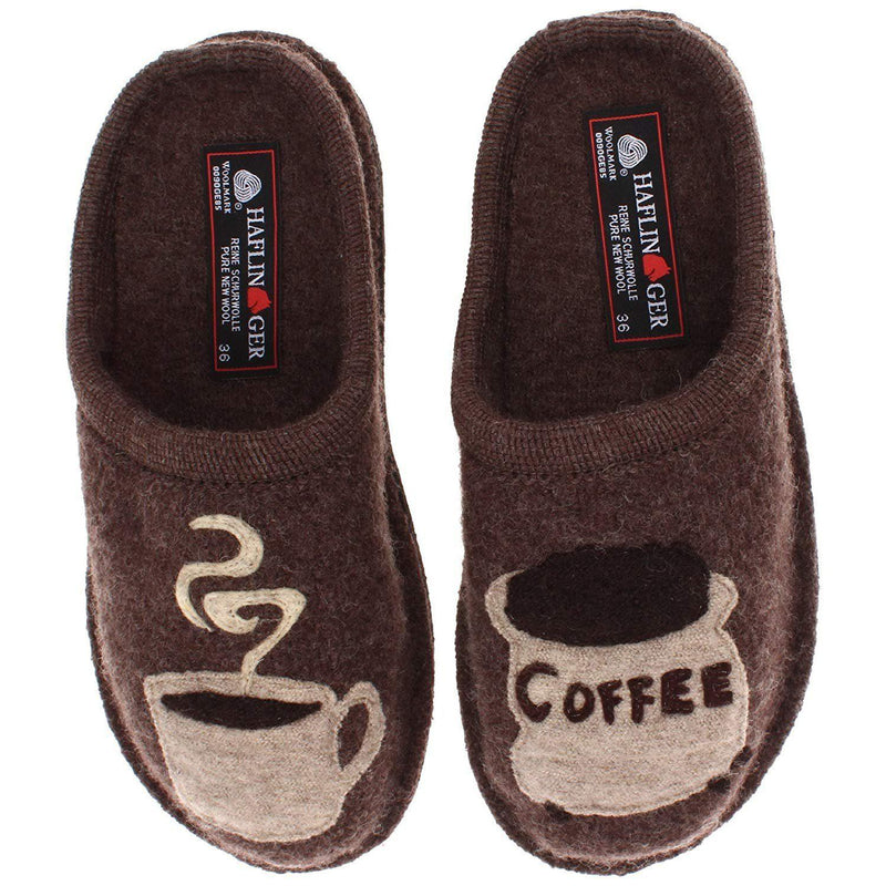 Haflinger Women's AR Coffee Slipper - Earth / 10