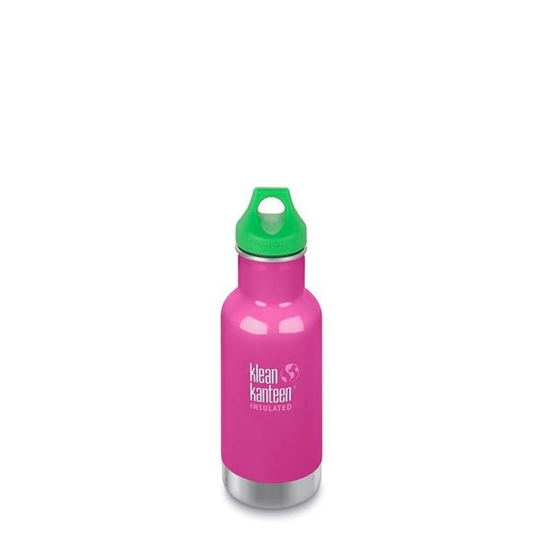 Klean Kanteen Insulated Kid Classic 12oz - Loop Cap - Wild Orchid