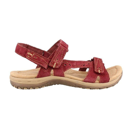 Earth Origins Women's Sophie Sandals - Scarlet Red / 6.5