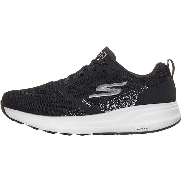 Skechers Men's Go Run Ride 8 Hyper - Black/White / 10