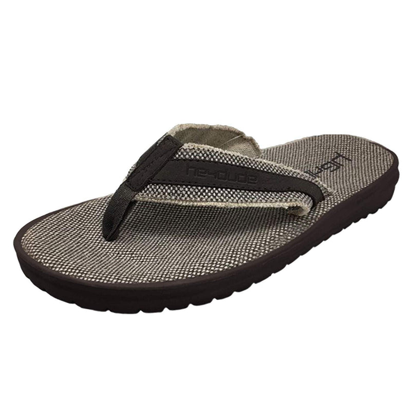 Hey Dude Shoes Men's Jax Braided Sandals-Hey Dude-GrivetOutdoors.com