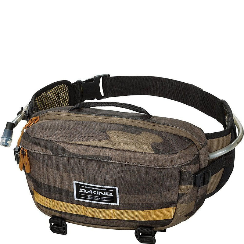 Dakine Hot Laps 5 Liter Bike Waist Bag - Field Camo