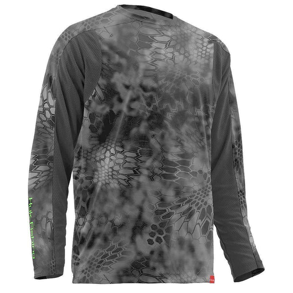 Huk Men's Trophy Kryptek Long Sleeve - Kryptek Raid / Medium
