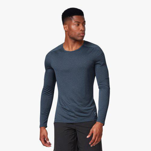 ON Running Men's Performance Long-T - Navy / Medium