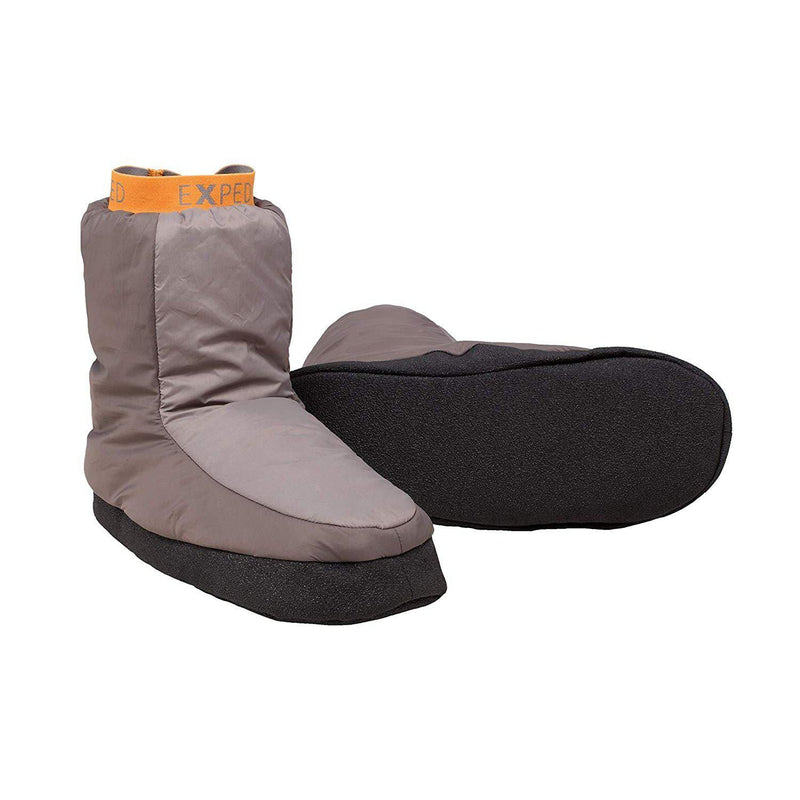 Exped Camp Booty Camping Slippers - Charcoal / Large