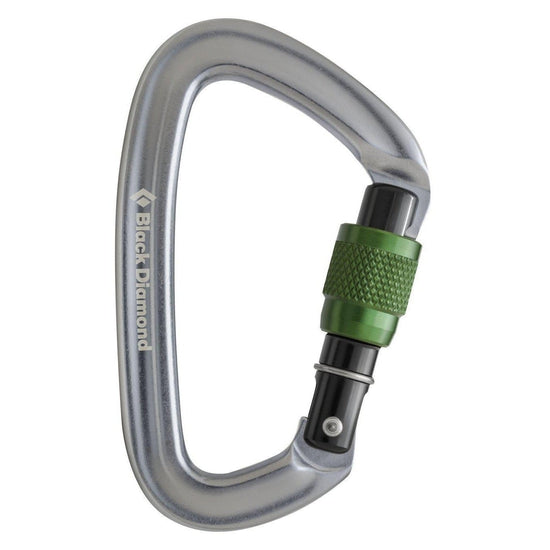 BLACK DIAMOND Positron Screwgate Carabiner - Grivet Outdoors