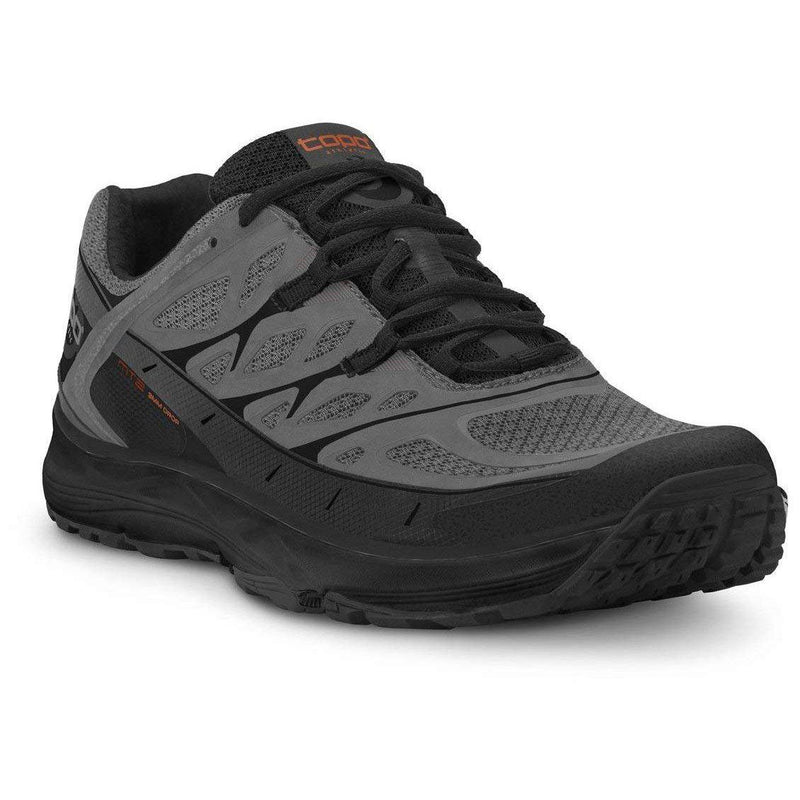 Topo Athletic Men's MT-2 Trail Running Shoe - Grey/Black / 10