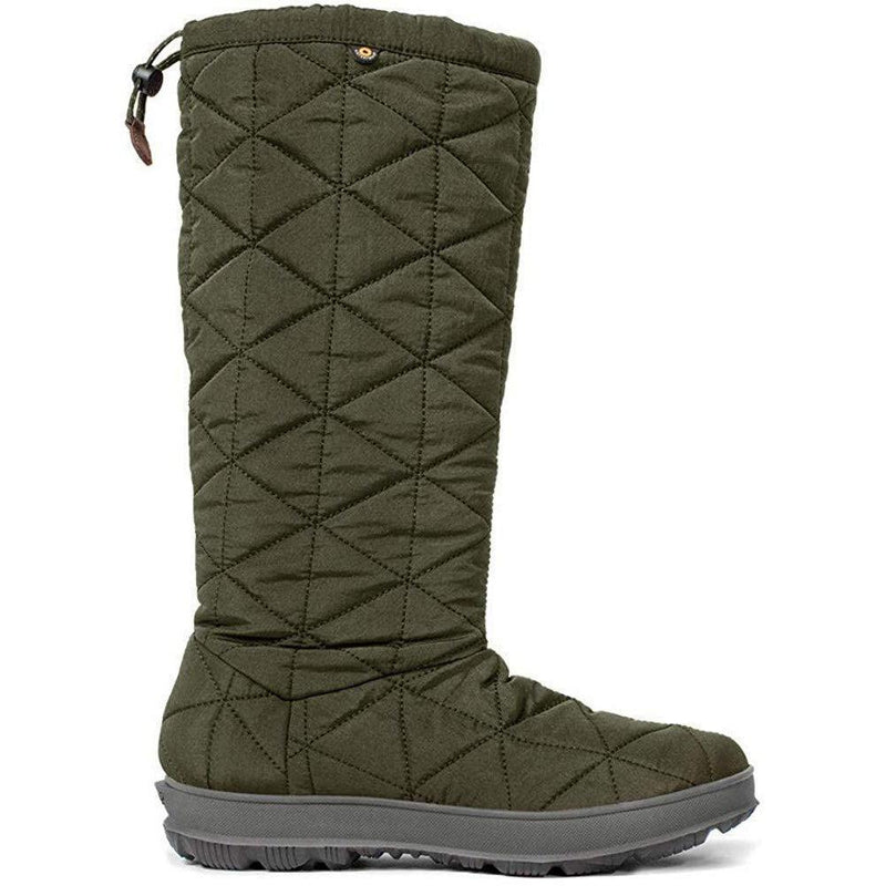BOGS Women's Snowday Tall - Dark Green / 10