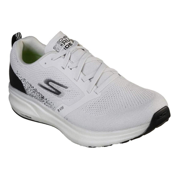 Skechers Men's Go Run Ride 8 Hyper - Light Grey/Black / 11.5