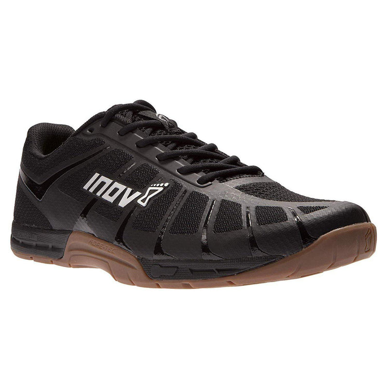 Inov-8 Mens F-Lite 235 V3 - Ultimate Supernatural Cross Training Shoes - Lightweight and Flexible - Functional Performance Trainers for Gym and Weight Lifting - Black/Gum / 8