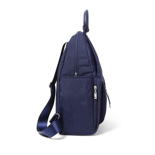 Baggallini All Day Backpack with RFID Phone Wristlet (Navy) - [variant_title]