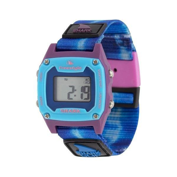 Freestyle Shark Mini Clip Unisex Watch - Tie Dye Blue Sea
