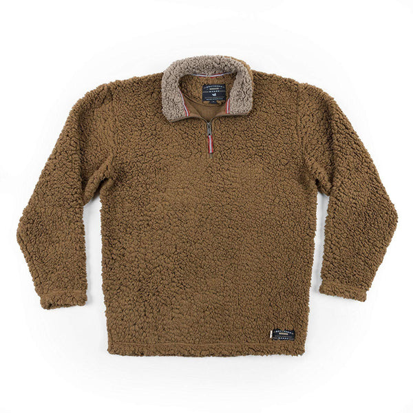 Southern Marsh Appalachian Pile Pullover - Brown / Medium