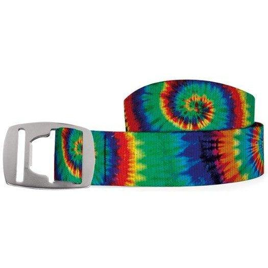 Croakies Belt - Jammin On Haight Ashberry/Silver / OS