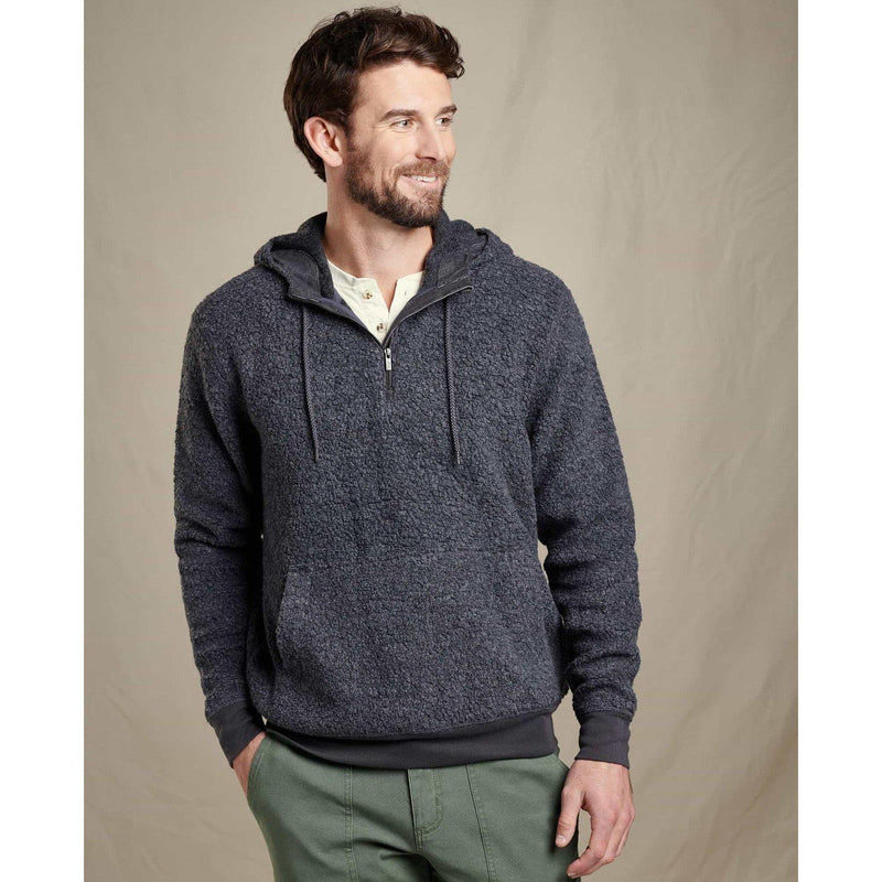 Toad & Co. Men's Telluride Sherpa Hoodie - Charcoal Heather / L