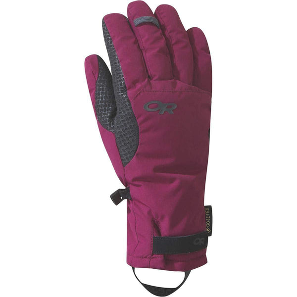 Outdoor Research Women's Ouray Ice Gloves - Beet / Large