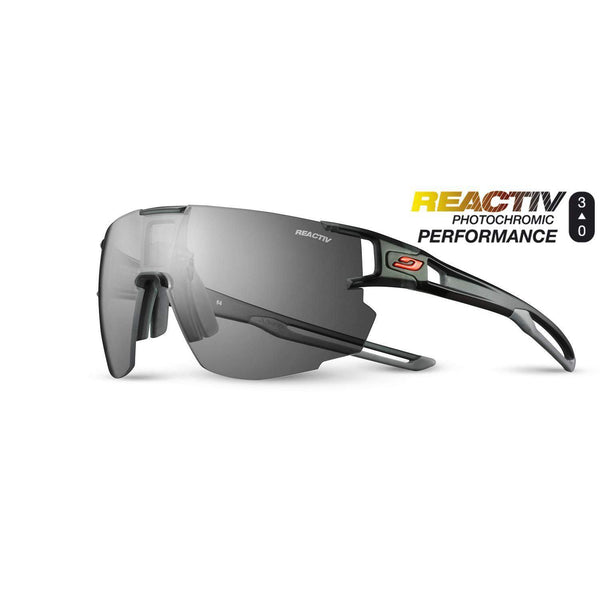 Julbo Aerospeed Sunglasses - Translucent Black/Gray