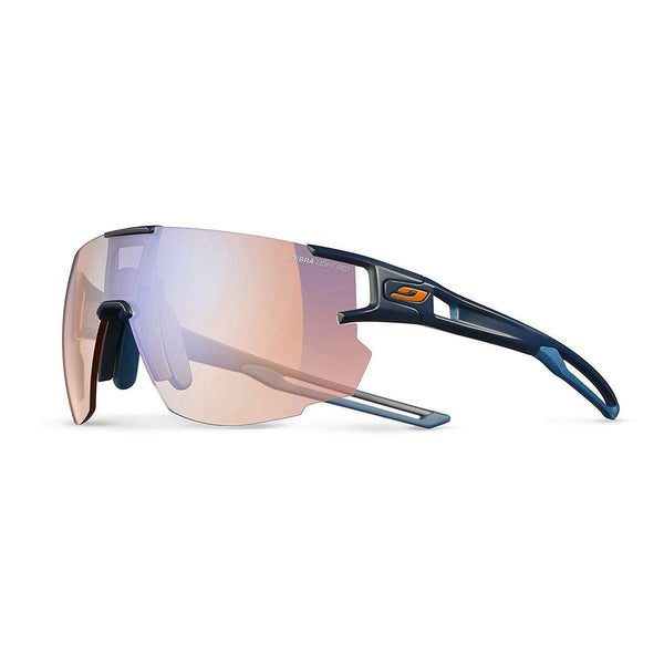 Julbo Aerospeed Sunglasses - Dark Blue/Dark Blue/Orange