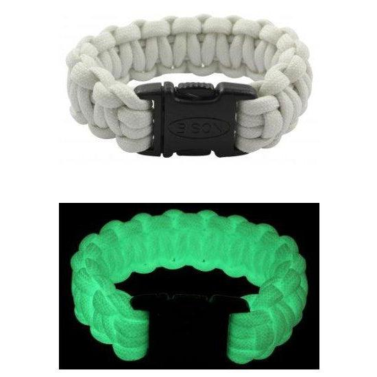Glow in the Dark Survival Bracelet by Bison Designs - [variant_title]