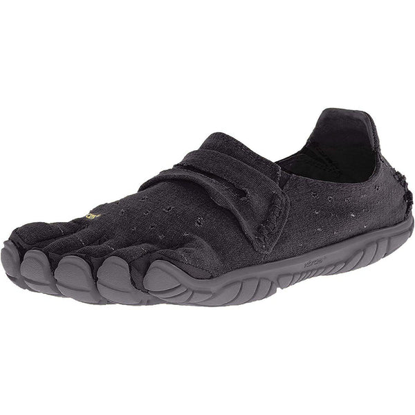 Vibram Five Fingers Men's CVT-Hemp Minimalist Casual Walking Shoe - Black / 46 EU/11.5-12