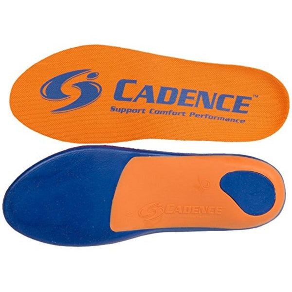 Cadence Insoles Orthotic Shoe Insoles - Orange
