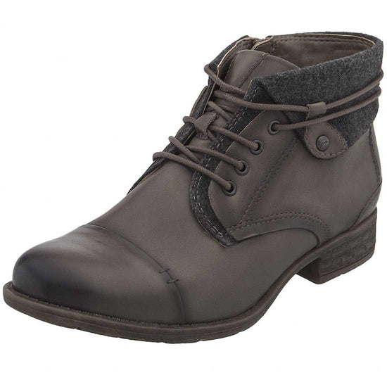 Earth Women's Rexford Ankle Boot - Taupe Full Grain Leather / 6.5