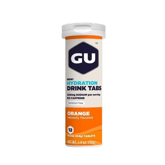 GU Hydration Drink Tabs, Orange One Color One Size-Grivet Outdoors
