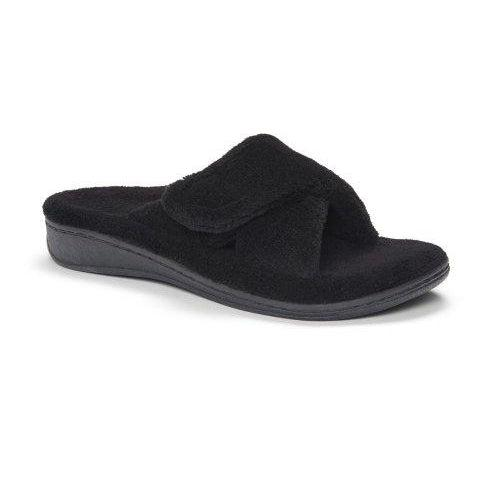 Vionic Women's Indulge Relax Slipper - Black / 7