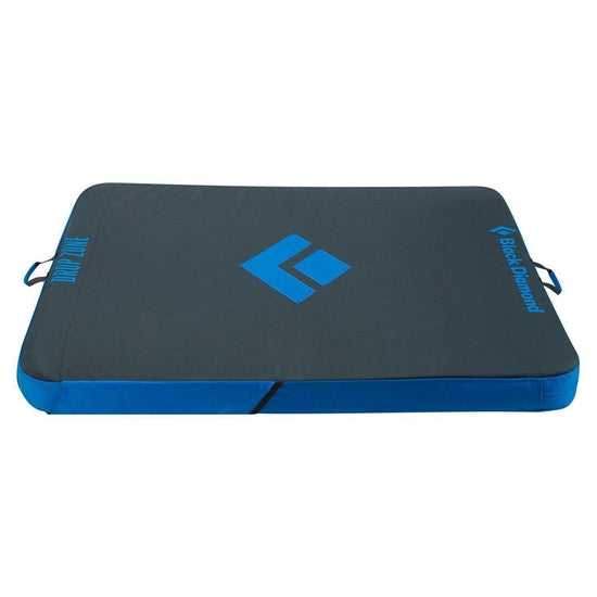 Black Diamond Drop Zone Crash Pad, 104 x 122 x 9cm, Ultra Blue - Grivet Outdoors