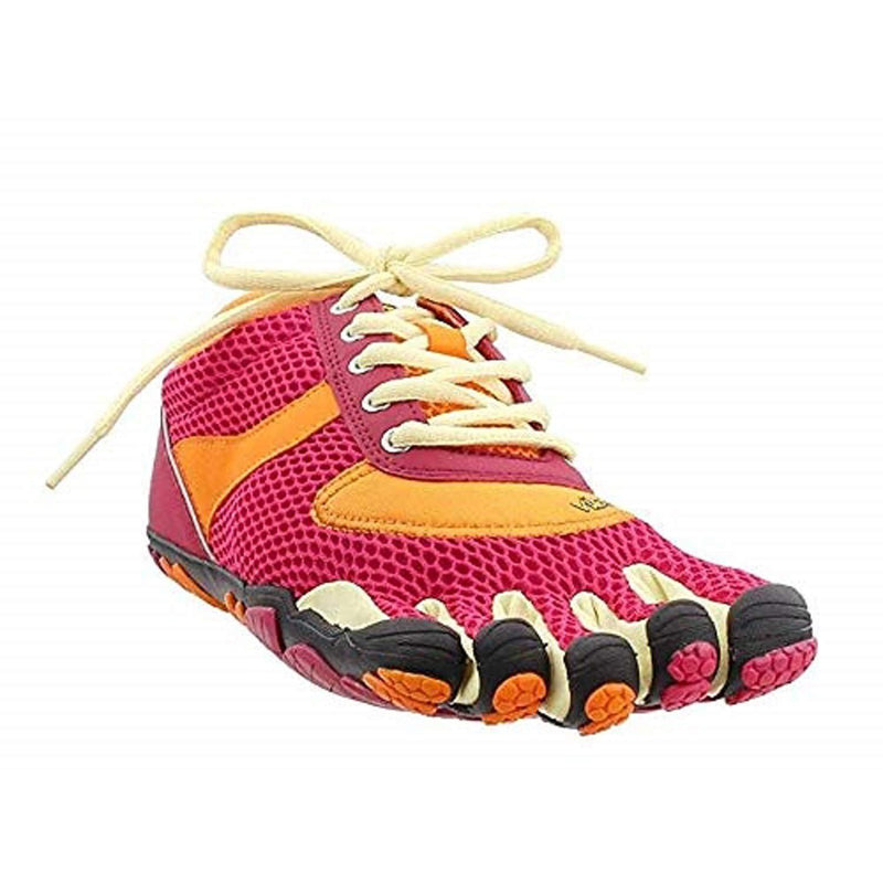 Vibram Fivefinger Women's Speed Running Shoe - Rose/Pumpkin / 37 M EU