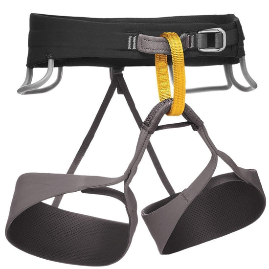 Black Diamond Solution Climbing Harness - Men's - Grivet Outdoors