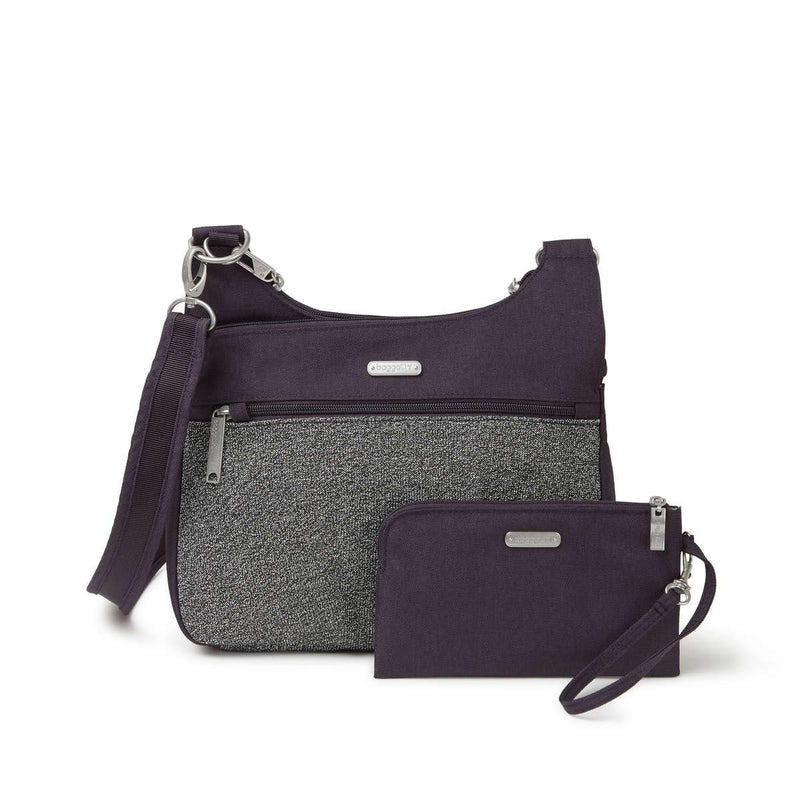 baggallini Anti Theft Cross Over Crossbody - Default Title