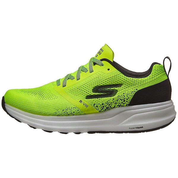 Skechers Men's Go Run Ride 8 Hyper - Yellow/Black / 8