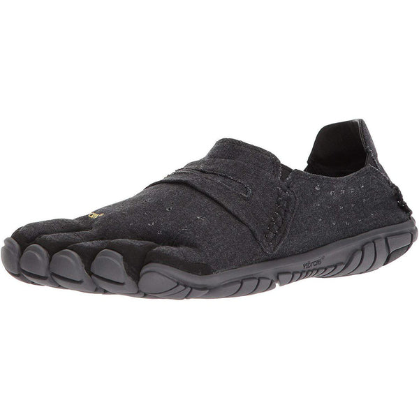 Vibram Five Fingers Men's CVT-Hemp Minimalist Casual Walking Shoe - Black / 41 EU/8.5-9