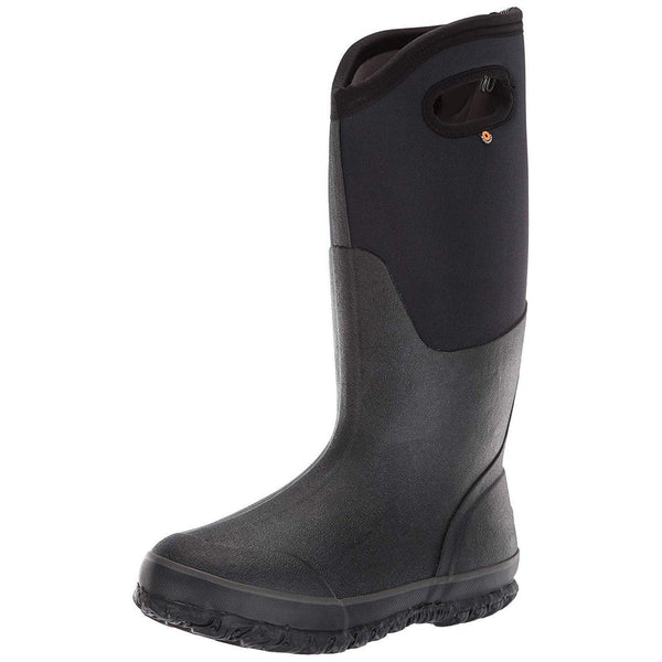 Bogs Women's Classic High Handle Waterproof Insulated Boot - Black / 8