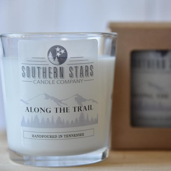 Southern Stars 8 oz Candle - Along the Trail - [variant_title]