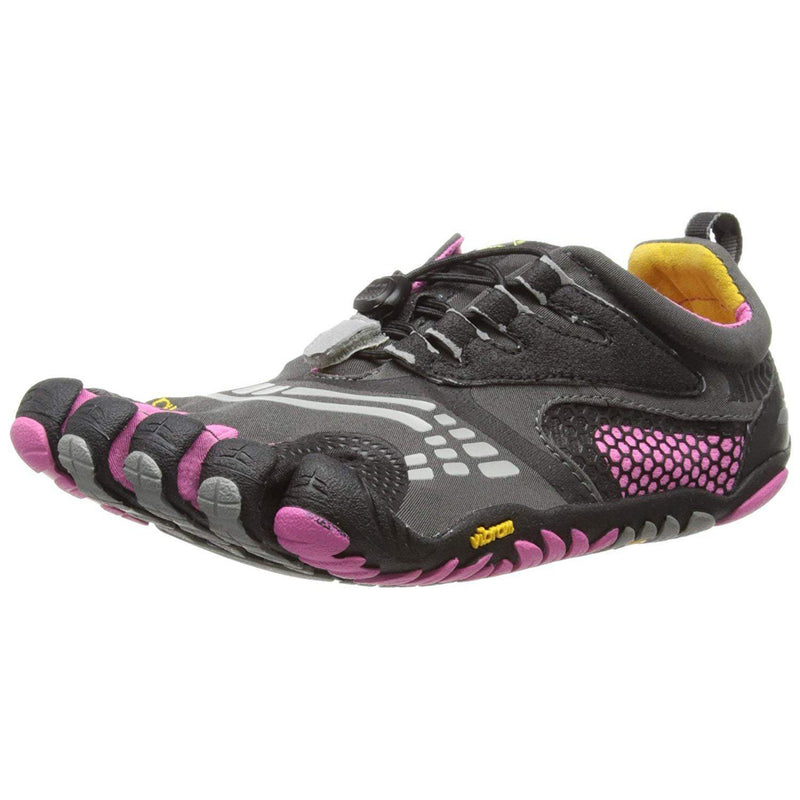 Vibram FiveFingers KomodoSport LS Womens Athletic Shoes - Grey/Black/Pink / 38