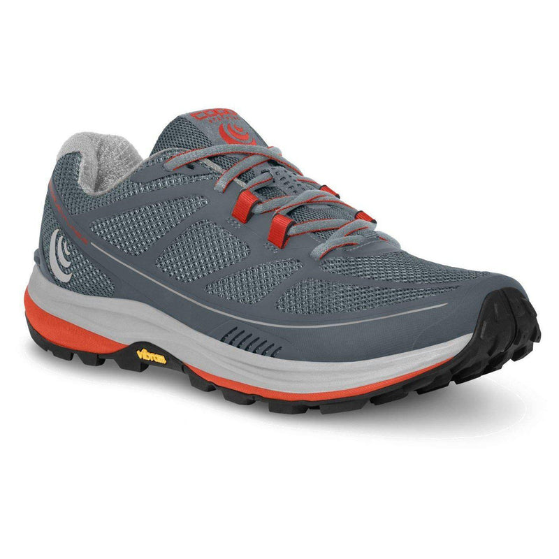Topo Athletic Women's Terraventure 2 Trail Running Shoe - Slate/Poppy / 10