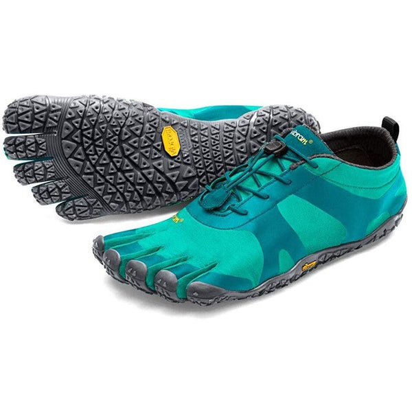 Vibram Women's V-Alpha Black Hiking Shoe - Teal/Blue / 6-6.5