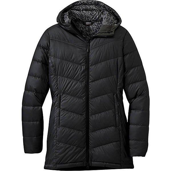 Outdoor Research Women's Transcendent Down Parka - Black/Jet / Medium
