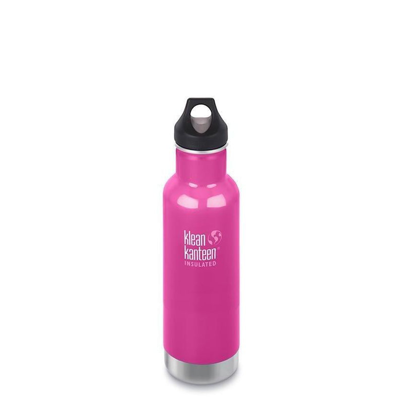 Klean Kanteen Insulated Classic 20oz - Loop Cap - Wild Orchid