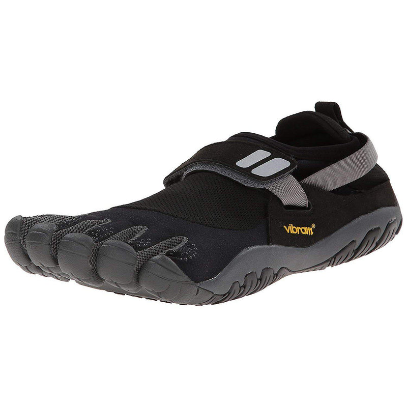 Vibram Fivefingers TrekSport Trail Shoes - Black/Charcoal / 10